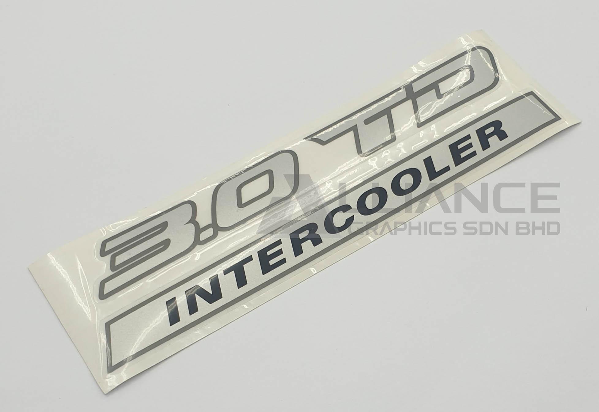 3.0TD stiker