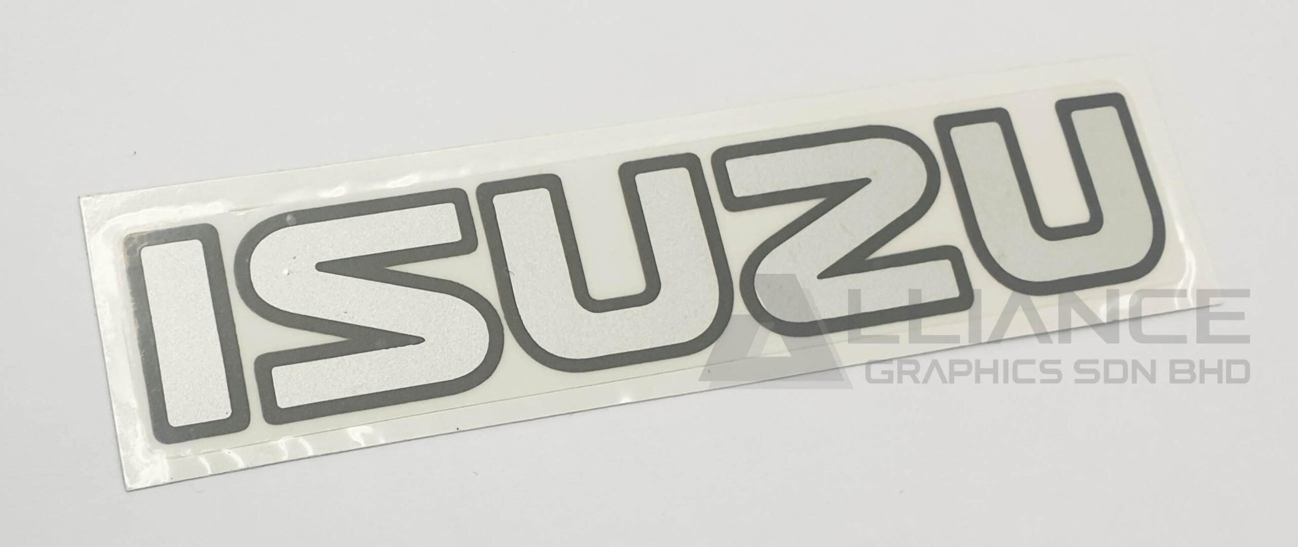 isuzu stiker